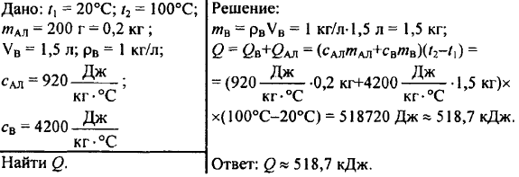 39. Измерение количества теплоты