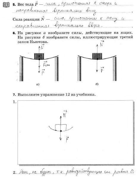 § 12. Третий закон Ньютона