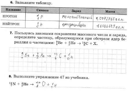 § 55. Открытие протона и нейтрона